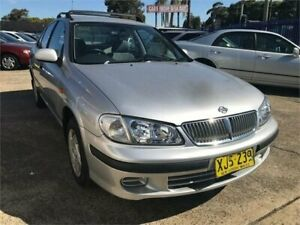 2002 Nissan Pulsar N16 ST Silver 4 Speed Automatic Sedan Chester Hill Bankstown Area Preview