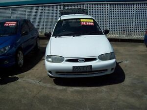 1998 Ford Festiva WF GLXi White 4 Speed Automatic Hatchback Capalaba West Brisbane South East Preview