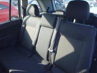 VAUXHALL ZAFIRA REAR SEAT INC SEAT BELT 08 09 10 11 REG USED