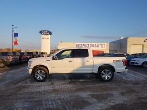 2015 Ford F-150 PLATINUM, FX4, MAX TOW, TWIN PANEL MOONROOF