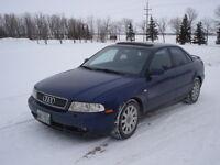 1999 Audi A4 Quattro AWD turbocharged safety $3900