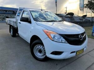 2015 Mazda BT-50 UP0YD1 XT White Manual Cab Chassis Mulgrave Hawkesbury Area Preview