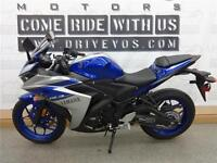 2015 Yamaha YZF-R3 - V1848 - **No payments until 2017**