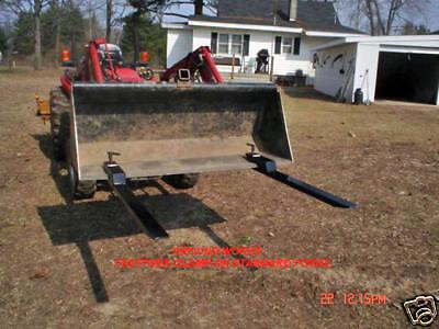 Tractor Forks Bucket Forks Loader Forks Skid Clamp-on Usa Made In Michigan