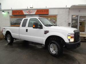 2008 FORD F350 MANUAL 6.4 DIESEL 4X4 AIR CRUISE TILT POWER WINDO