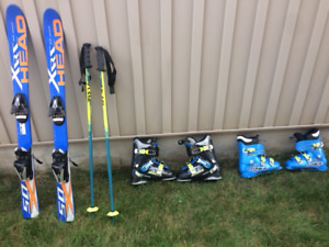 Children's Ski Equipment-- Pricing Below (Bundled or separated)