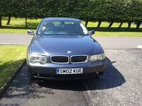 BMW 735 02 PLATE 72000MLS