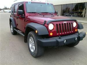 2012 Jeep Wrangler Unlimited SPORT, MANUAL! READY TO ROLL!!