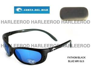 Costa-Del-Mar-Fathom-Polarized-Sunglasses-FA11BMGLP-Black-Blu-Mirror-400