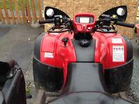 2012 Honda 500 Rubicon ATV