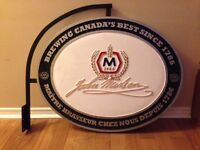 Man Cave Must Have - Wall Mount Molson Pub Sign