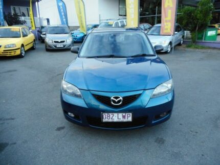 2006 Mazda 3 BK MY06 Upgrade Neo Blue 4 Speed Auto Activematic Sedan Coorparoo Brisbane South East Preview
