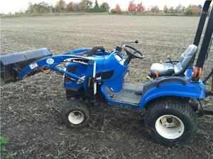 New Holland Compact Tractor