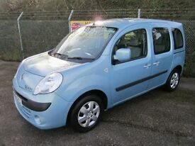 Renault Kangoo 1.5 Expression DCi Turbo Diesel 5DR WHEELCHAIR CONVERTED (surf blue) 2011