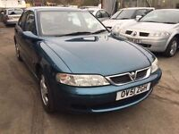 2002 Vauxhall Vectra automatic, starts and drives very well, MOT until 1st June, 1 owner since 2002,