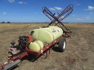 Boom Spray 12 metre Hardie Trailing unit PTO foam markers GPS etc Bacchus Marsh Moorabool Area Preview