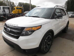 2015 Ford Explorer Sport 4x4 SUV, Crossover