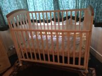 Baby Cot & Bunk Bed in used condition *** freeee **** immediate collection required