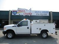 2012 Ford F-350 4X4 SRW 8' Utility Truck