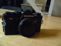OLYMPUS OM2n SLR CAMERA