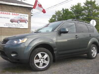 2008 OUTLANDER 7PASSENGER ,4WD, AUTO ,12M WRTY,SAFETY$7495