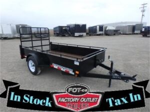 IN-STOCK >>----->> Canadian Made 3K Utility Trailers <<-----<<