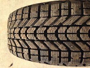 Firestone Winterforce Winter Set of Tires 215 70 16 – MINT!