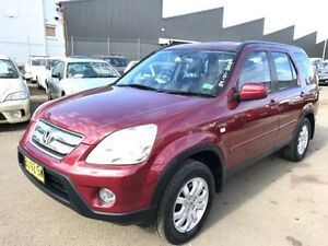 2006 Honda CR-V 2005 Upgrade (4x4) Sport Maroon 5 Speed Automatic Wagon Revesby Bankstown Area Preview