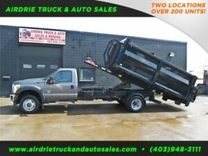 2011 Ford F-550 DRW XLT Bin Truck Power Tommy Tailgate DSL 4x4