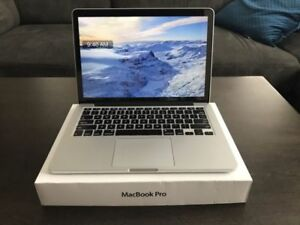 "Mint Macbook Pro Retina 13"", i5 2.4GHZ, 256GB SSD, 16GB RAM,"