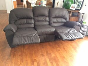 Brown Palliser Reclining Sofa