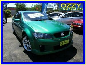 2010 Holden Commodore VE MY10 SV6 Green 6 Speed Manual Sedan Minto Campbelltown Area Preview