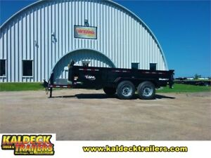 CAM Super Line 18,400# GVWR 16' Heavy Duty Dump Box