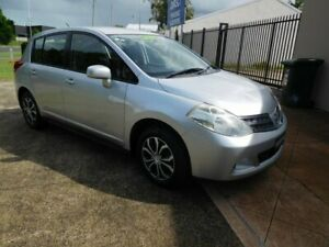 2011 Nissan Tiida C11 S3 ST Silver 4 Speed Automatic Hatchback Ballina Ballina Area Preview