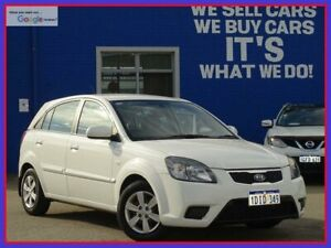 2010 Kia Rio JB MY10 S White 5 Speed Manual Hatchback Welshpool Canning Area Preview