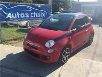 FIAT 500 SPORT 2012 **30$/SEM.**CUIR**TOUT EQUIPE**