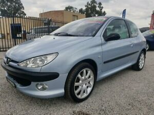 2001 PEUGEOT 206 GTi 3D HATCH, MANUAL, LOW KMS, LOG BOOKS,APRIL 2021 REGO, WARRANTY, JUST SERVICED!! North St Marys Penrith Area Preview
