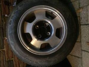 FOR SALE (4) 14 inch Rims for MGB, Toyota or Datsun 240Z used Kitchener / Waterloo Kitchener Area image 5