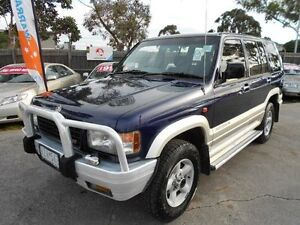 1996 Holden Jackaroo SE LWB (4x4) Blue 4 Speed Automatic 4x4 Wagon Maidstone Maribyrnong Area Preview