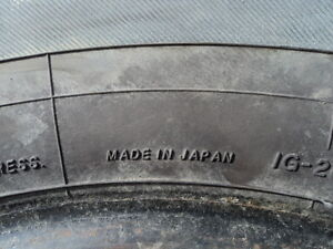 4 Yokohama Winter Tires for Cavalier 195/70/14 Edmonton Edmonton Area image 6
