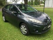 2010 Ford Fiesta WT CL Silver 6 Speed Automatic Sedan Tuggerah Wyong Area Preview