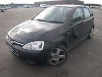 2003 VAUXHALL CORSA 1.4 SRI BREAKING BLACK Z20R ENGINE DOOR ALLOYS BOOT BUMPER LIGHT SALVAGE