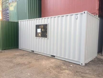 20' Shipping Container Office