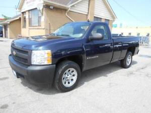 2008 CHEVROLET Silverado 1500 WT Regular Cab 8Ft Box ONLY 43K