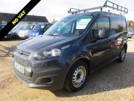 2013 63 FORD TRANSIT CONNECT 1.6 TDCI T200 SWB LOW ROOF 29339 MILES NO VAT TO PA