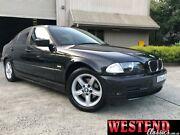 2000 BMW 318I E46 Executive Black 4 Speed Automatic Sedan Lisarow Gosford Area Preview