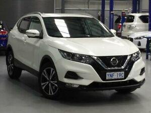 2018 Nissan Qashqai J11 Series 2 ST-L White Constant Variable Wagon