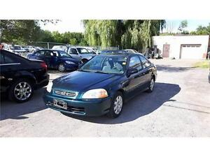 1998 Honda Civic DX-ONLY 96,000 KM-EXTRA CLEAN-$985!
