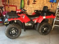 2014 Polaris Sportsman X2 550 EPS with SNOW PLOW