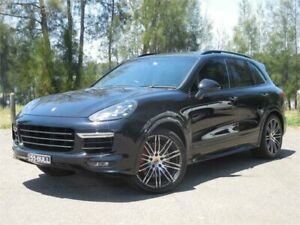 2015 Porsche Cayenne Series 2 MY15 Turbo Black 8 Speed Automatic Tiptronic Wagon Lansvale Liverpool Area Preview